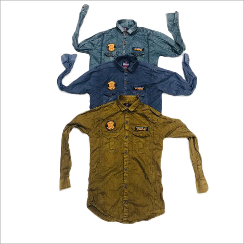 Mens Fancy Denim Shirts