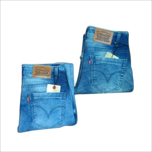 Mens Stretchable Denim Jeans