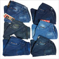 Mens Plain Denim Jeans