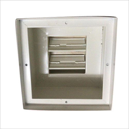 HEPA Housing Filter Damper