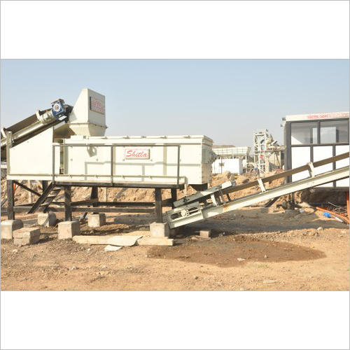 Semi Automatic Wet Mix Macadam Plant