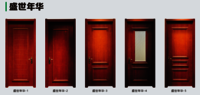 Chinese Traditional WPC Door
