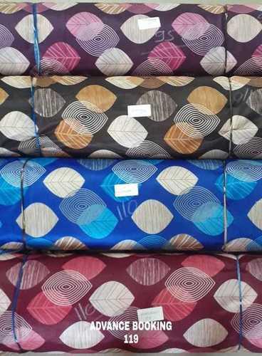 Printed Curatin Fabrics