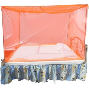 Poly Cotton Printed Mosquito Bed Net