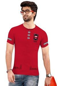 Round Neck Men's T-shirt