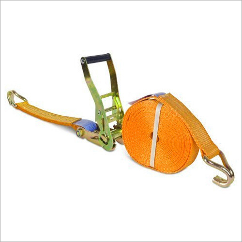 Polyester And Metal Ratchet Lashing Belt