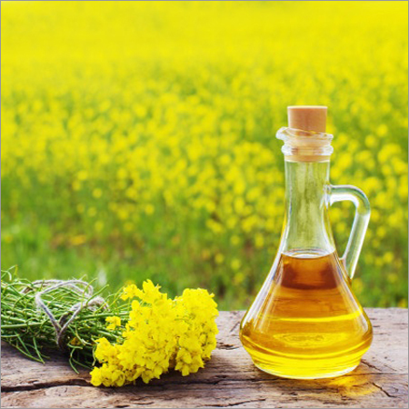 Rapeseed Flowers Oil