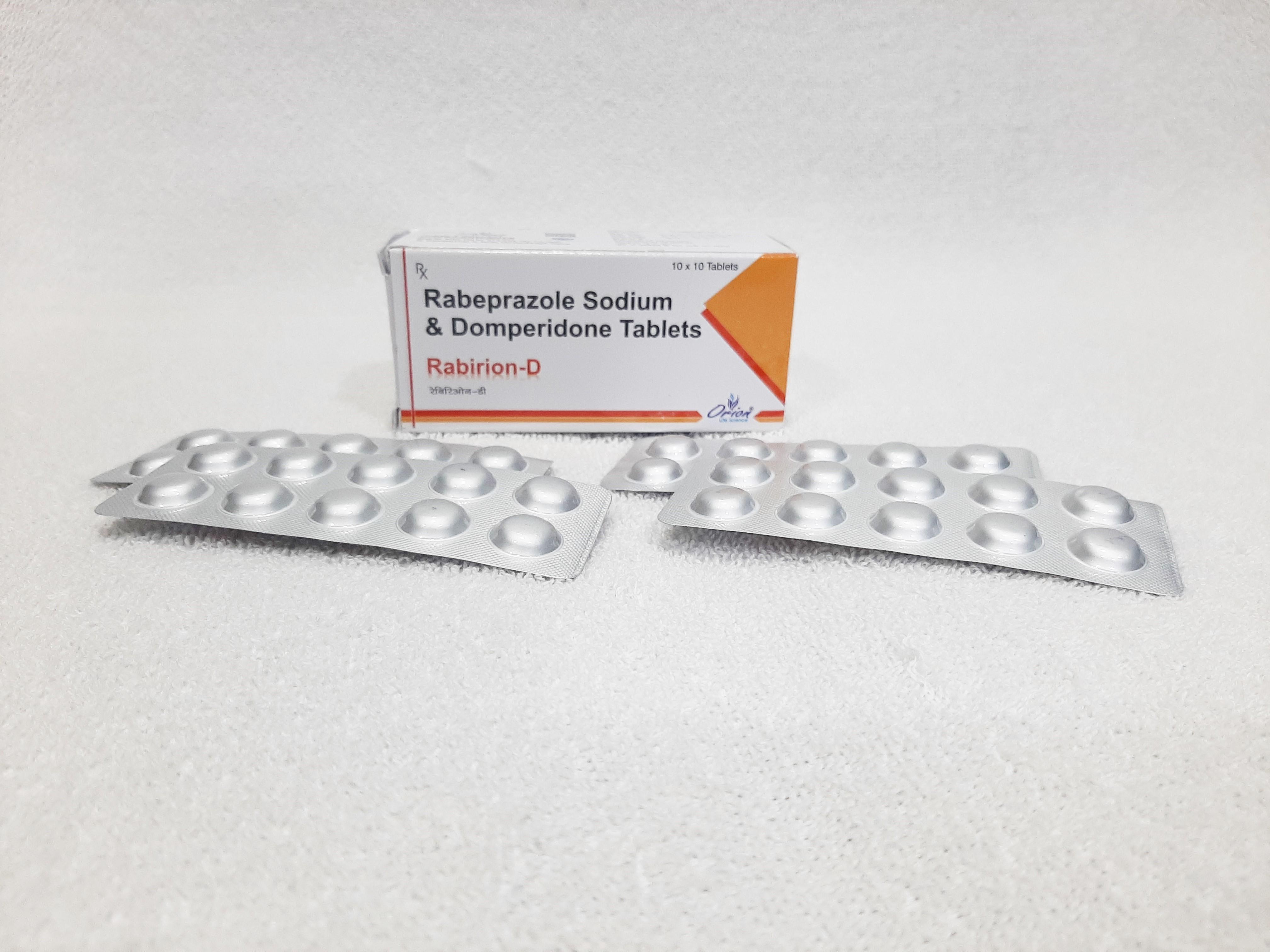 Rabeprazole sodium & domperidone tablet