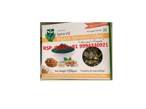 Spira Vit  Organic Spirullina Chikki