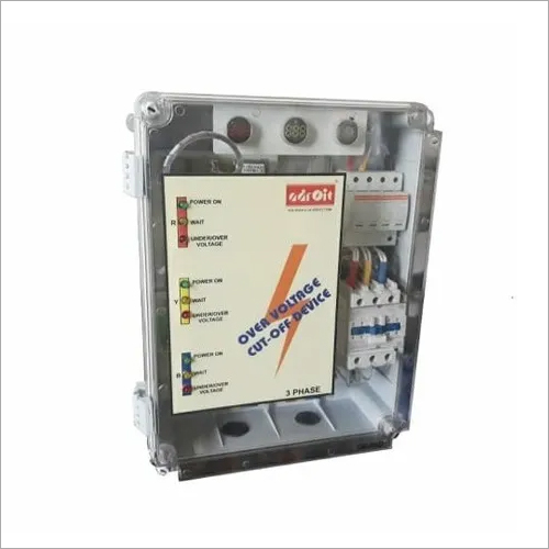 Over Voltage Cut Off Device With Type 1+2 Surge Protection Device