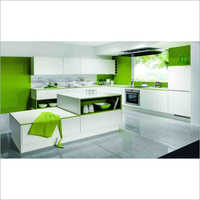 Breakfast Counter Modular Kitchen