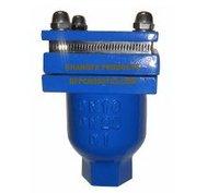 Threaded single orifice air valve