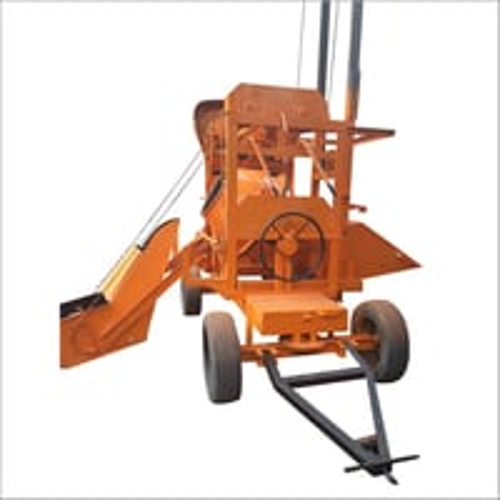 Hopper Lift Concrete Mixer