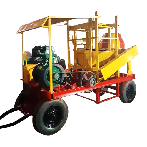 Four Pillar Concrete Mixer
