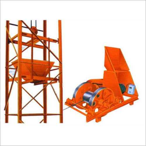 Four Pole Channel Frame Type Tower Hoist