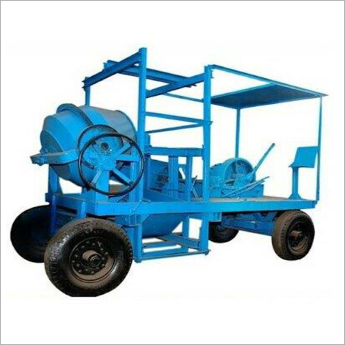 Tower Hoist Winch Portable Hopper Mixer