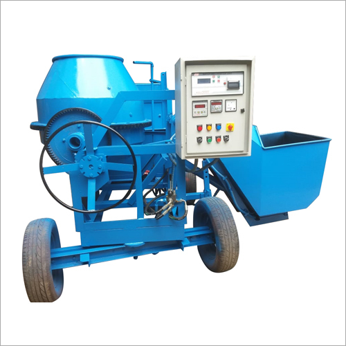 Hydraulic Portable Hopper Mixer
