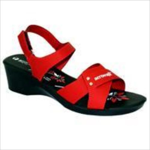 Red Women Sandal
