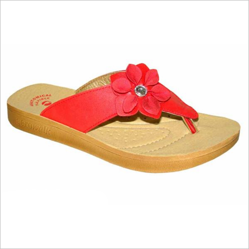 Red Women Slipper