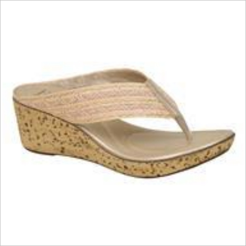 Beige Women Slipper
