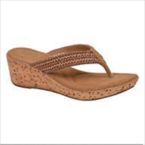 Brown Women Slipper