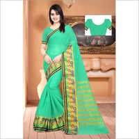 Chit Pallu Saree