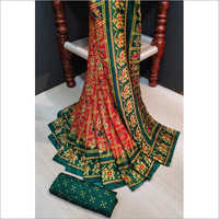 Fancy Bandhej Saree