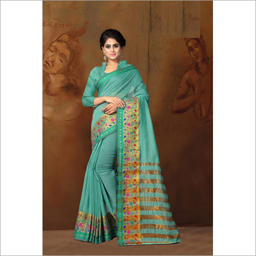 Ladies Chit Pallu Saree