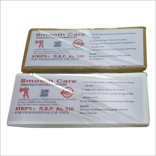 Disposable Non Woven Wax Strips