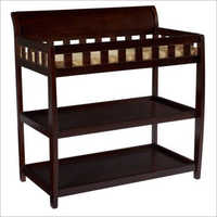 Wooden Three Shelf Changing Table
