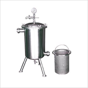 Stainless Steel Syrup Filter Assembly