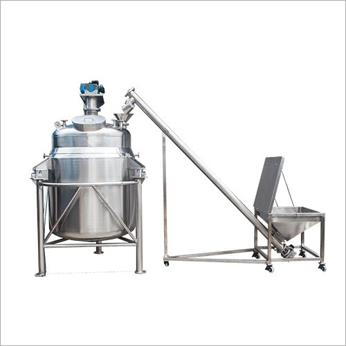 Syrup Manufacturing Tank With Screw Feeder