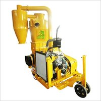 Rice Husk Vacuum Conveyor Use Diesel Engine