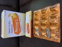 Vitamin C with Zinc Chewable Tab ( Normal C Tab)