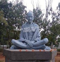 Mahatama Gandhi Stone Statue