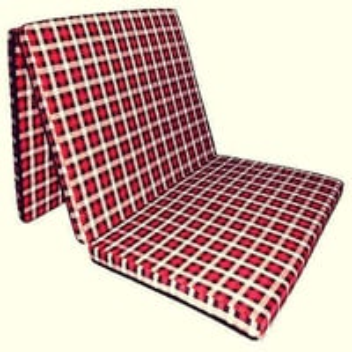 "Satcap India 3 fold folding mattress (72""X35""X1.77"")"