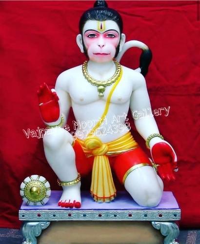 Pure Marble Hanuman Statue