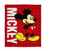 Disney Mickey Mouse Single Bed Fleece Blanket (150 cm x 220 cm)