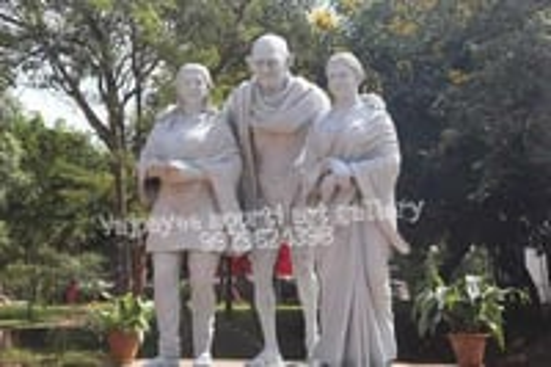 Mahatma Gandhi Marble Statue
