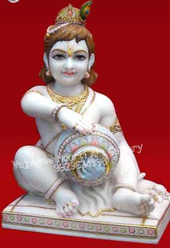 Marble Makhanchor Statue