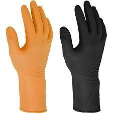 Ammex Professional Series Black Nitrile Gloves