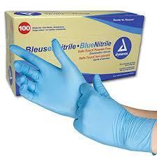 Nitrile Blue Surgical Hand Gloves