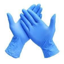 Nitrile Examination Blue Hand Gloves
