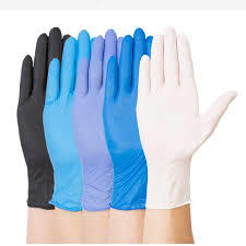 OEM Latex Or Rubber Nitrile Disposable Examination Gloves