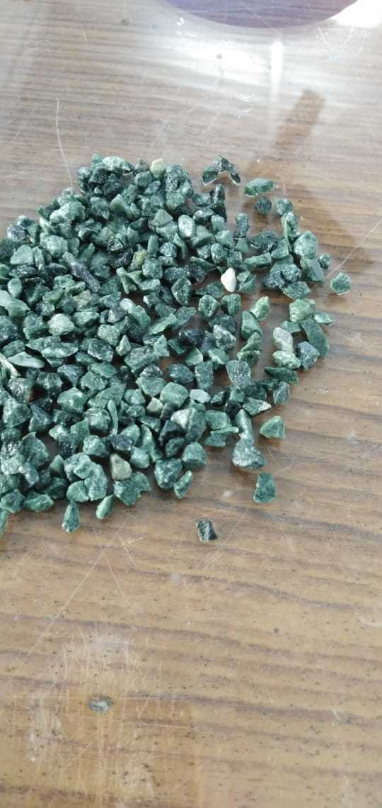 bulk supply natural color green marble chips
