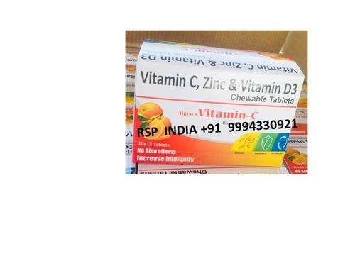 Algens Vitamin C Chewable Tablets