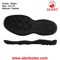 Rubber Casual Shoe Sole for Men