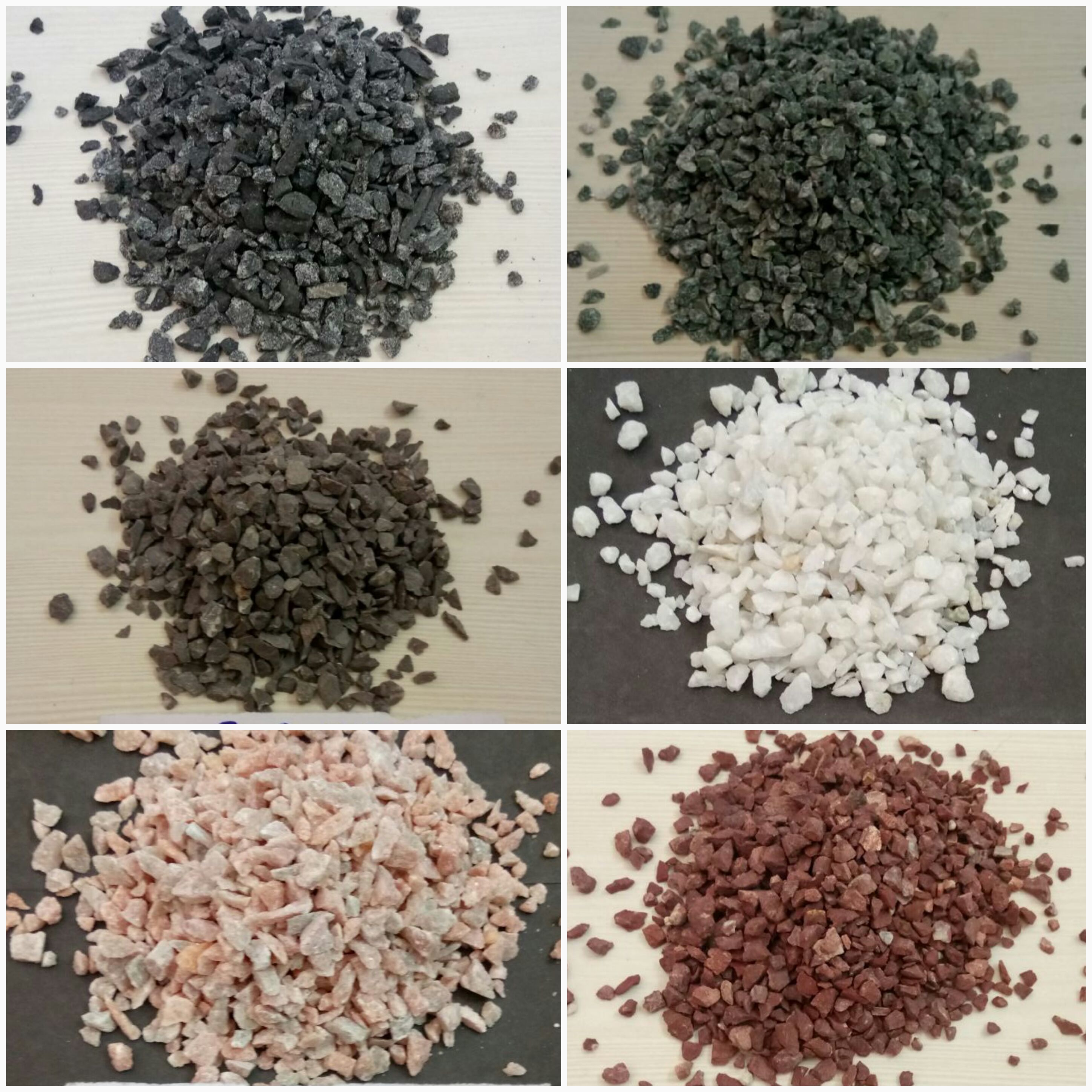Indian bulk stocks of different natural color marble crushed & wash chips & aggregate pea gravels