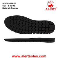 Rubber Casual Shoe Sole