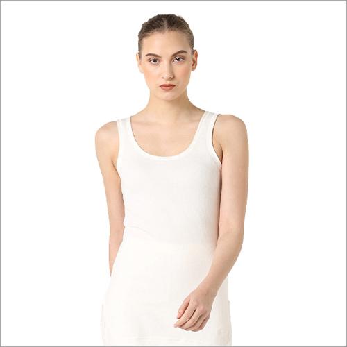 Ladies White Vest